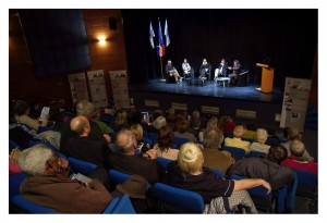 First event - Day 2 - Round table - St-Raphaël cultural center auditorium, France